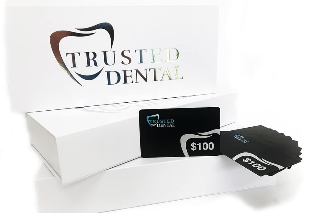 $100 Trusted Dental Gift Card